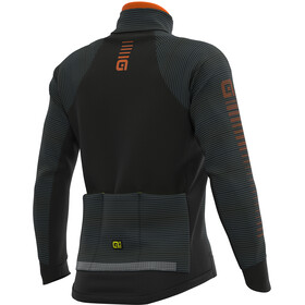 Alé Cycling Graphics PRR Thermo Road Veste Homme, black-fluo yellow